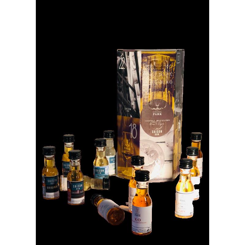 "Tasting Box ""Advent Calendar"" 12 miniatures Cognac Park"