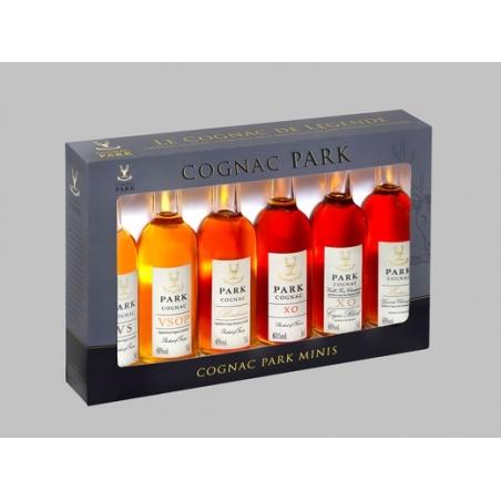 Coffret 6 miniatures Cognac Park
