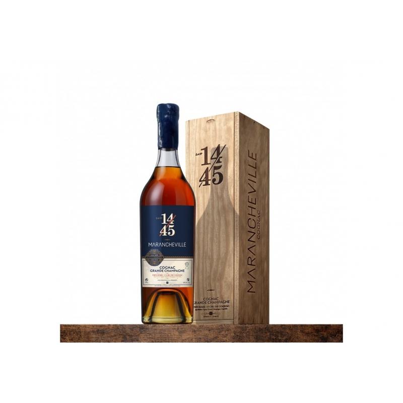 Très Rare Lot N° 14/45 Cognac MARANCHEVILLE