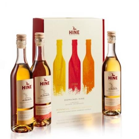 Limited Edition Trio Bonneuil Cognac HINE