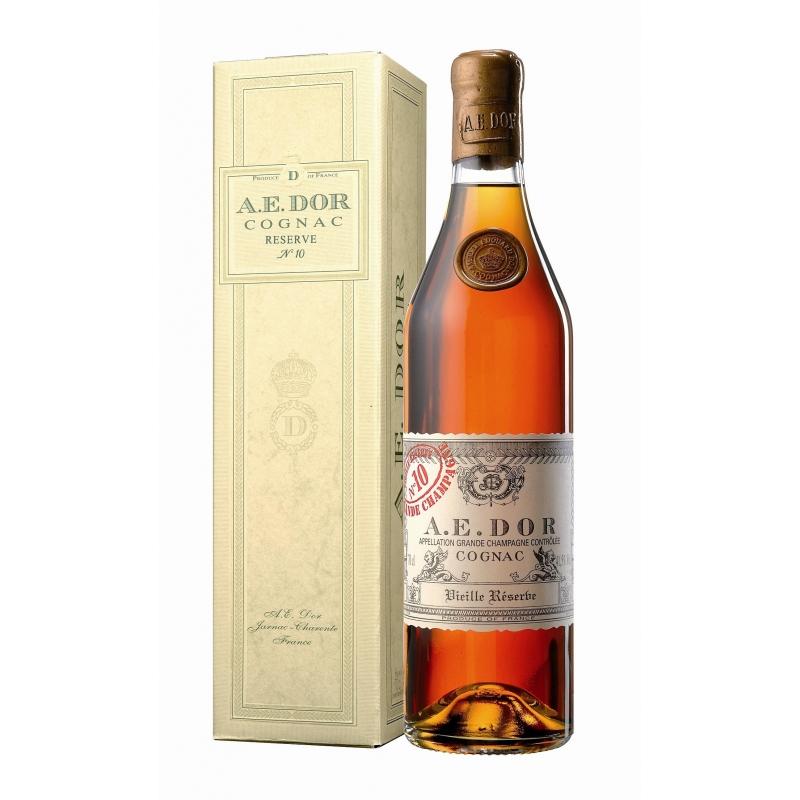 Vieille Reserve N°10 Grande Champagne Cognac A.E Dor