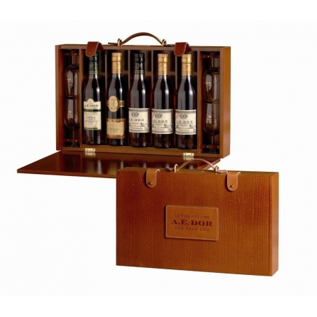 Valise For Week End Cognac A.E Dor