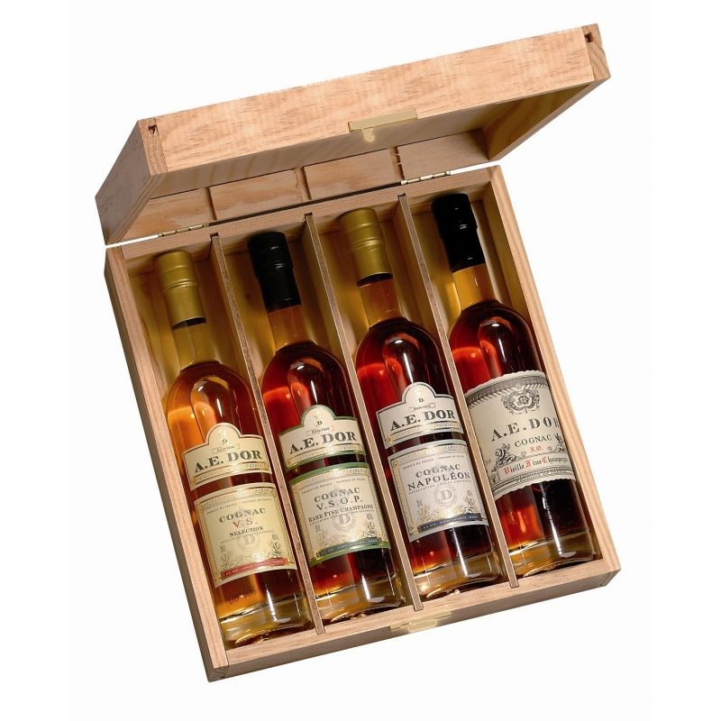 Coffret dégustation N°1 Cognac A.E Dor