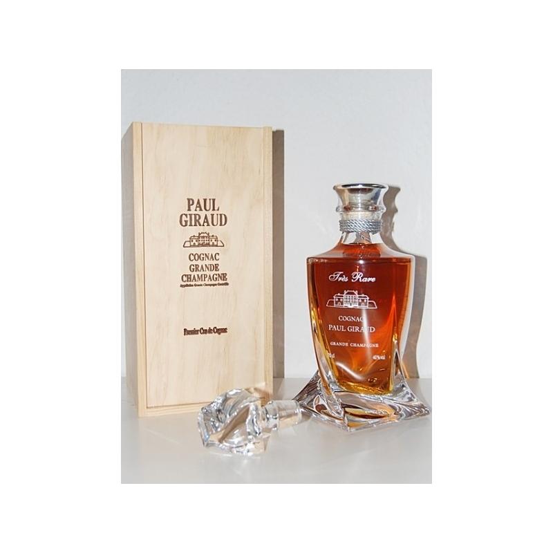 Très Rare Carafe Cristal Cognac Paul Giraud