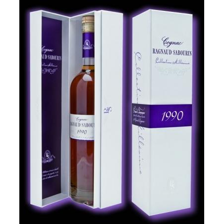 Millésime 1990 Cognac Ragnaud Sabourin